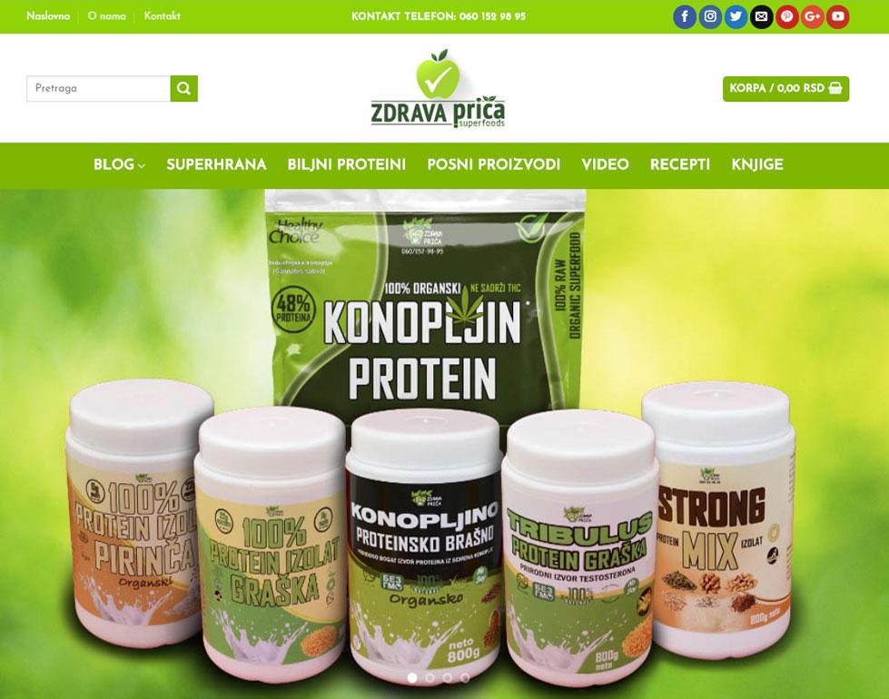 zdravaprica.com